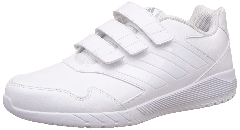 adidas Kinder Altarun Cf K Multisport Indoor Schuhe  36 EU|Ftwr White/Mid Grey S14/Ftwr White