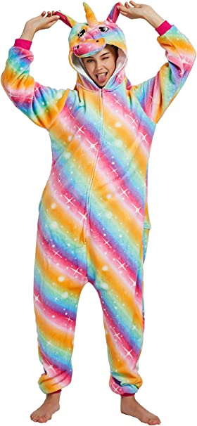 Chichidog Pijama de Unicornio para Halloween, Ropa de casa ...