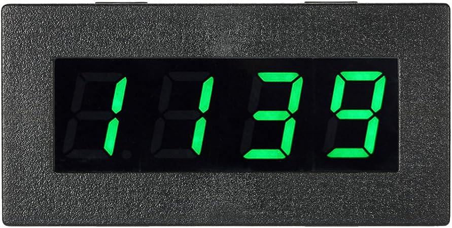 High Precision 0.56 4 LED Digital Frequency Tachometer Car Motor Speed Meter RPM Measurement Tester 5-9999R//M DC 8-15V