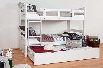 Etagenbett Für Erwachsene Weiß : Etagenbett für erwachsene weiß nische teilbar mit