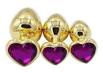 jeweled butt plug and penis jewelry