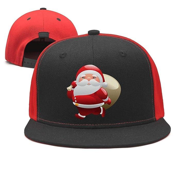 Santa Clause Christmas Adjustable Baseball Cap Plain Dad hat Snapback  Vintage 15c95fce489c