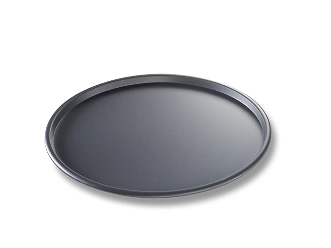 USA Pan Thin Crust Hard Anodized Pizza Pan, 12-Inch Dinnerware & Serving Pieces at amazon