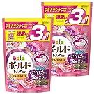 【まとめ買い】 ボールド 洗濯洗剤 ジェルボール3D 癒しのプレミアムブロッサムの香り 詰め替え ウルトラジャンボサイズ 52個入×2個