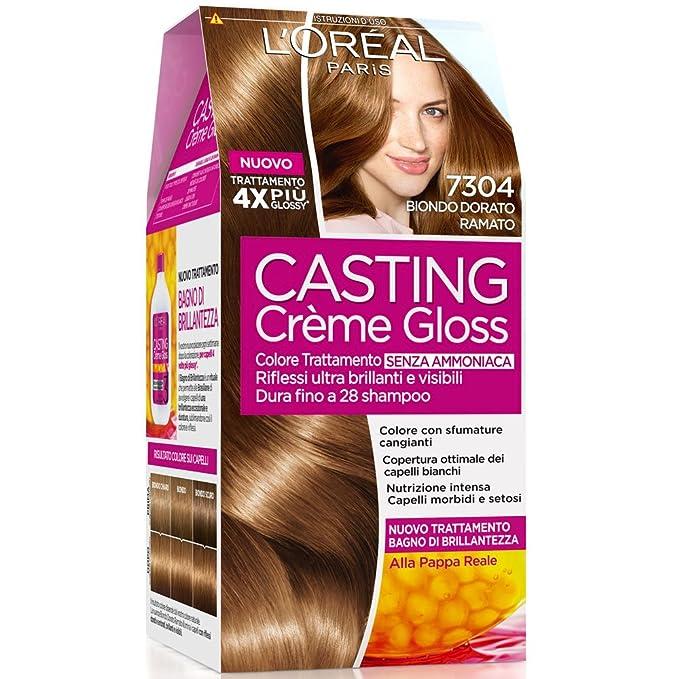 Teinture pour les cheveux loreal casting 7304