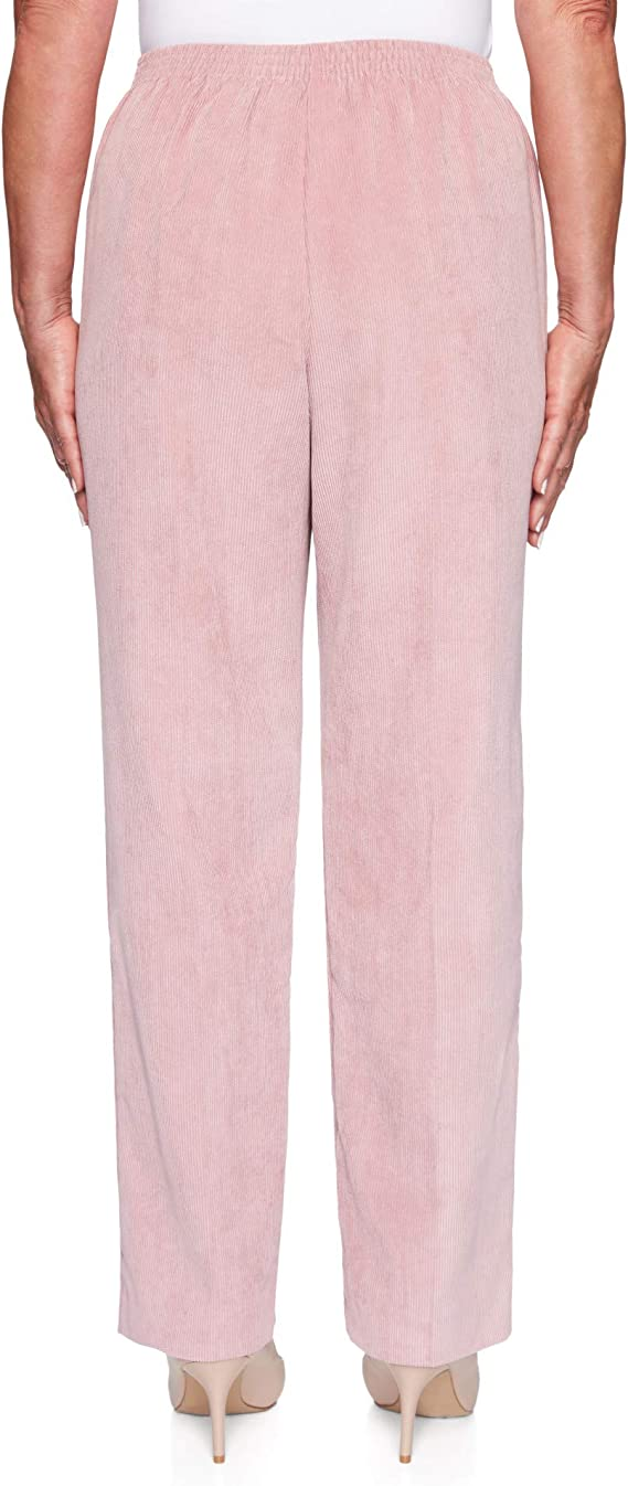 Details about  /Alfred Dunner Women/'s Madison Ave Texture Proportioned Medium Pants