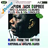 Two Classic Albums Plus 40s & 50s Singles (Blues From The Gutter / Natural & Soulful Blues)