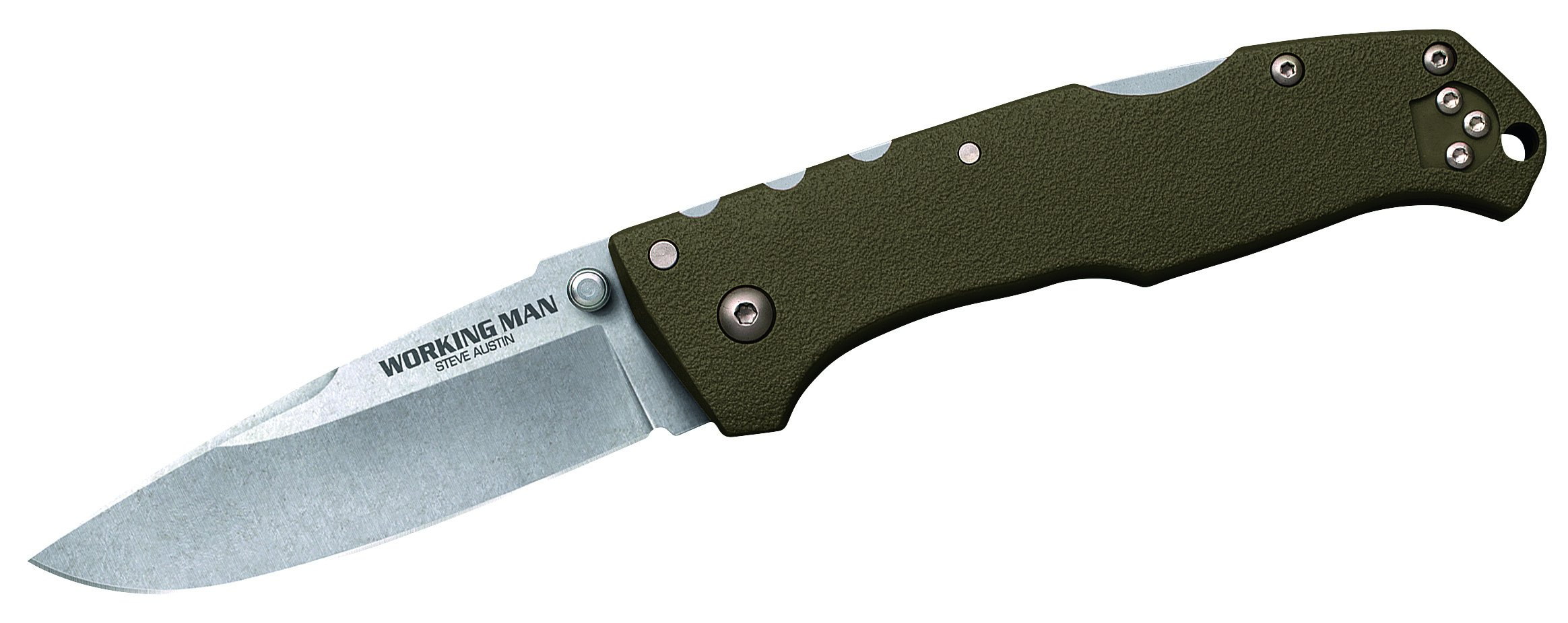 Cold Steel CS54NVG-BRK Working Man OD Green