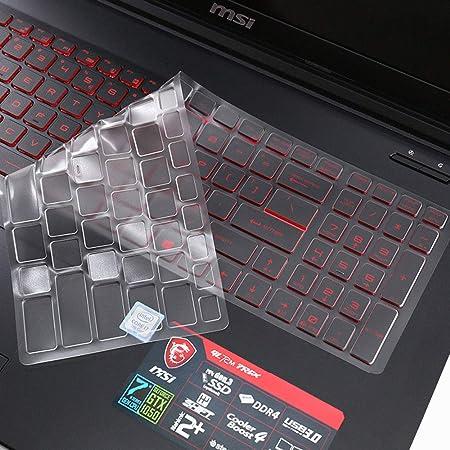MSI - Carcasa para teclado de ordenador portátil MSI G62M GT62VR GF62VR GE63VR GS63 GS63VR GP62 de 15,6