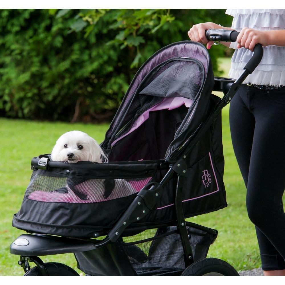 Pet Gear No-Zip NV Pet Stroller for Cats/Dogs