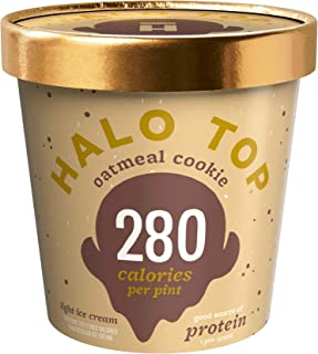 product image for Halo Top, Oatmeal Cookie Ice Cream, Pint (4 Count)