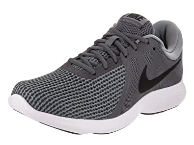 Nike Revolution 4 Boys Running Shoes Grey/White/Black eI5118D