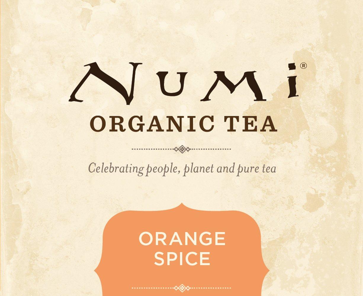 Numi Organic Tea White Orange Spice, Full Leaf White Tea, 16-Count Tea Bags, 1.58 Oz  (Pack of 2) by Numi Organic Tea (Image #5)