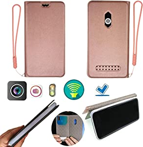 "Case for Acer Liquid Zest Plus T08 4g LTE 5.5"" Case Silicone Protection Ring + Flip Cover Stand Shell Pink"