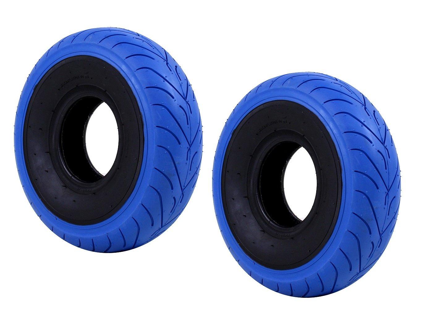 FatBoy Mini BMX 6-Ply Tires (Set of 2; Blue)