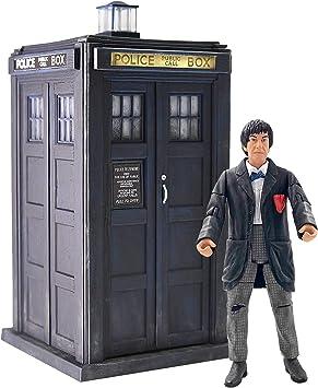Doctor Who 2nd Dr & Tardis Set – Figura de acción clásica y juego de tardis Merchandising – Opciones de personaje – 5.5 pulgadas: Amazon.es: Juguetes y juegos