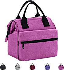 Srise Insulated Lunch Bag Lunch Boxes For Men and Women Reusable Lunch Tote Bag For Adults