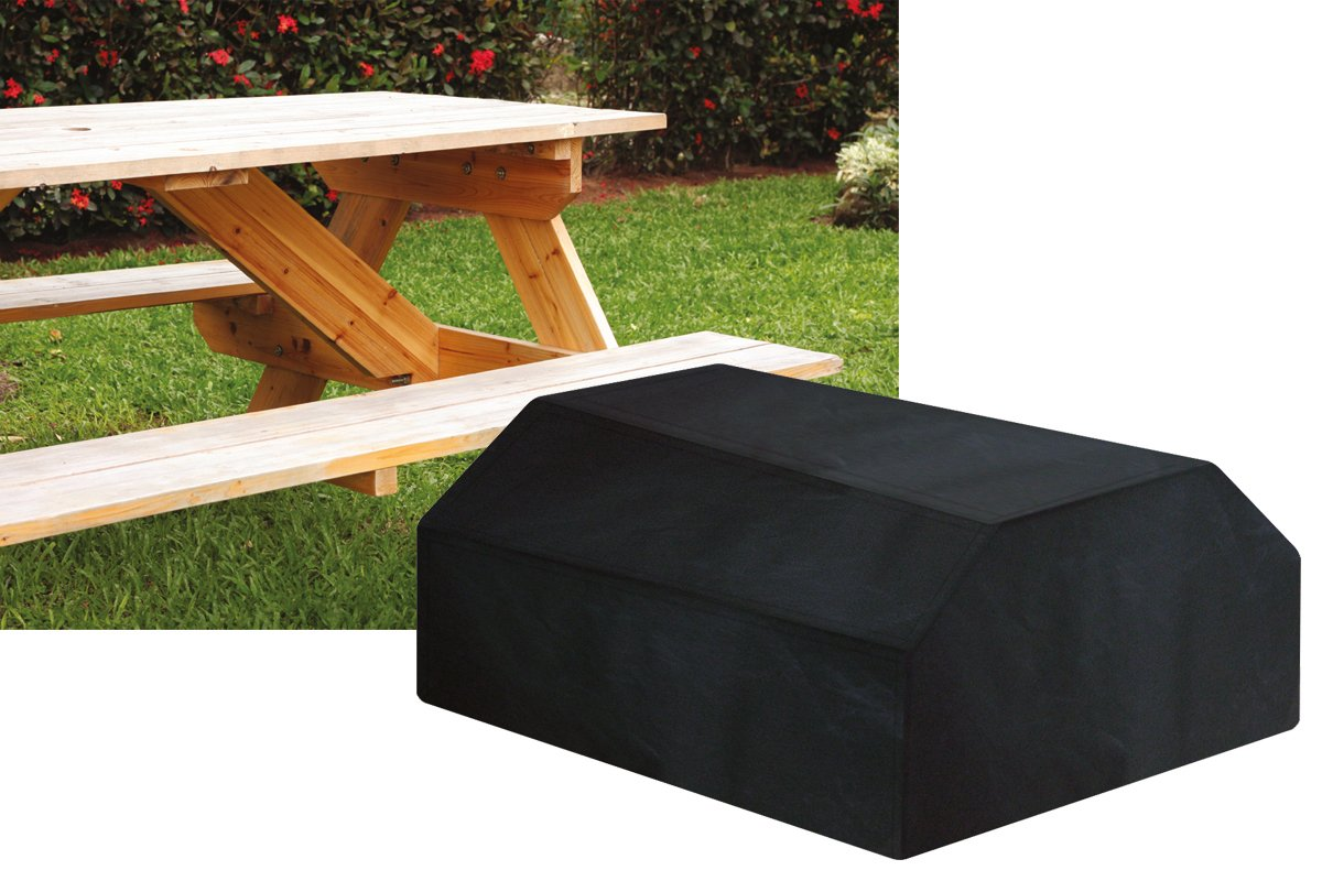 (W1504-Garland) Protection Cover For 6 Seater Picnic Table. Worth Gardening by Garland