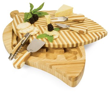 Picnic Time 'Leaf' Cutting Board & Cheese Tools | Nordstrom