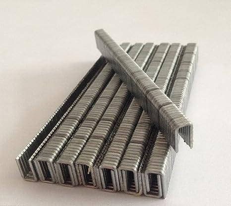 10 mm Calibre 18 grapas tipo 1000 piezas para grapadora, grapadora del compresor de aire