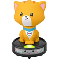 Fisher-Price Laugh & Learn Crawl-After Cat on a Vac, Musical Baby Toy