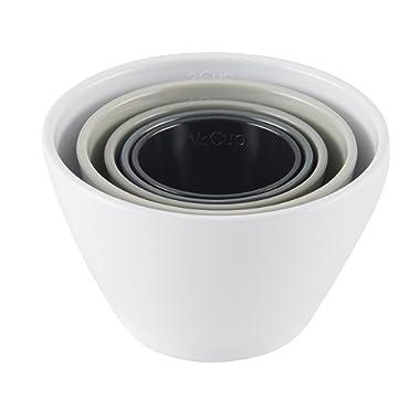 Rachael Ray Melamine Nesting Measuring Cups, 5-Piece Set, Assorted