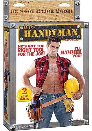 Handy Man Muñeco Hinchable: Amazon.es: Salud y cuidado personal