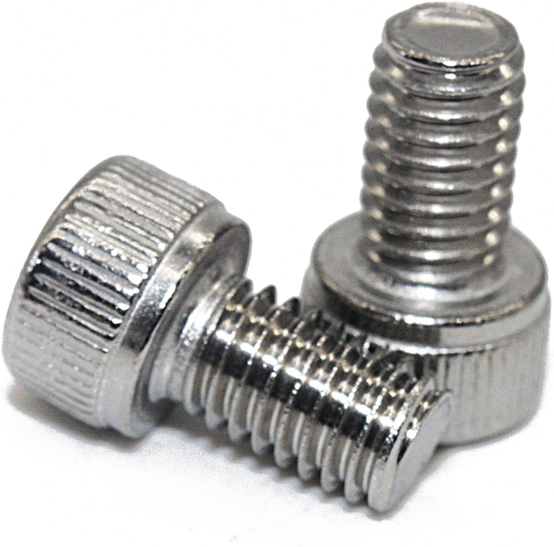 Zylinderkopfschrauben Edelstahl A2 V2A 10 St/ück Zylinderschrauben mit Innensechskant M6x65 - - DIN 912 ISO 4762