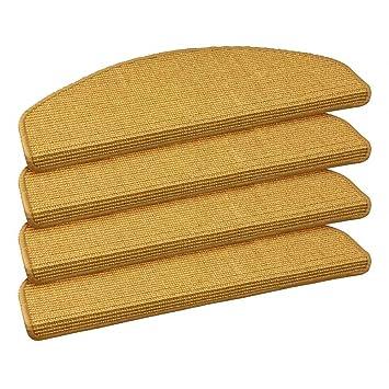 Brandneu 15 x Teppich Stufenmatten Treppenstufen 100% Sisal Natur: Amazon  ZU28