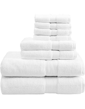 Conjunto de 5 toallas de baño de 30 x 50 cm a 100 x 180 cm