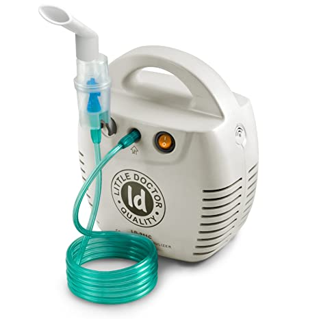 Little Doctor LD-211C - nebulizador compresor, terapia para niños, color blanco