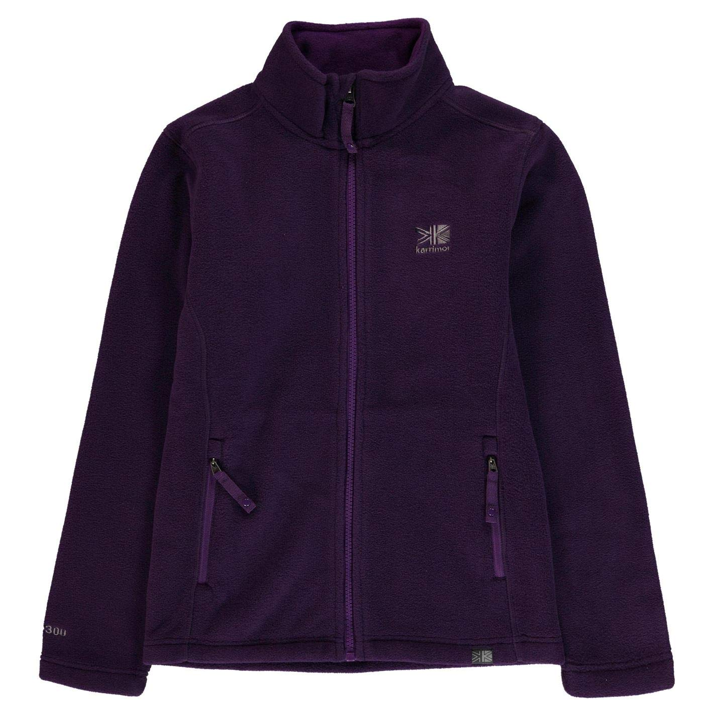 Karrimor Kids Fleece Jacket Junior Girls Thermal Up High