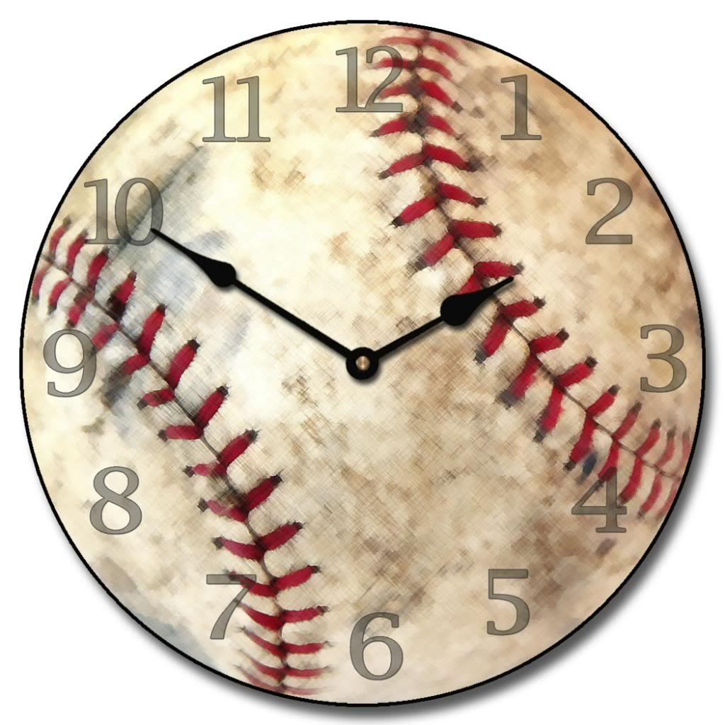 Amazon baseball wall clock available in 8 sizes most sizes amazon baseball wall clock available in 8 sizes most sizes ship the next business day whisper quiet home kitchen amipublicfo Images