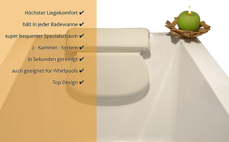 zenhome coussin de bain oreiller baignoire spa qualit ebay. Black Bedroom Furniture Sets. Home Design Ideas