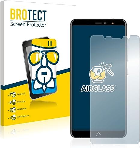 BROTECT Protector Pantalla Cristal Compatible con BQ Aquaris X2 / X2 Pro Protector Pantalla Vidrio Dureza 9H AirGlass: Amazon.es: Electrónica
