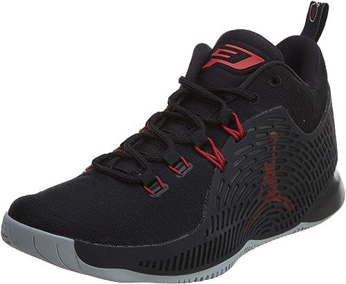 Nike Jordan cp3.x Basketball Homme Baskets BlackGym Rouge