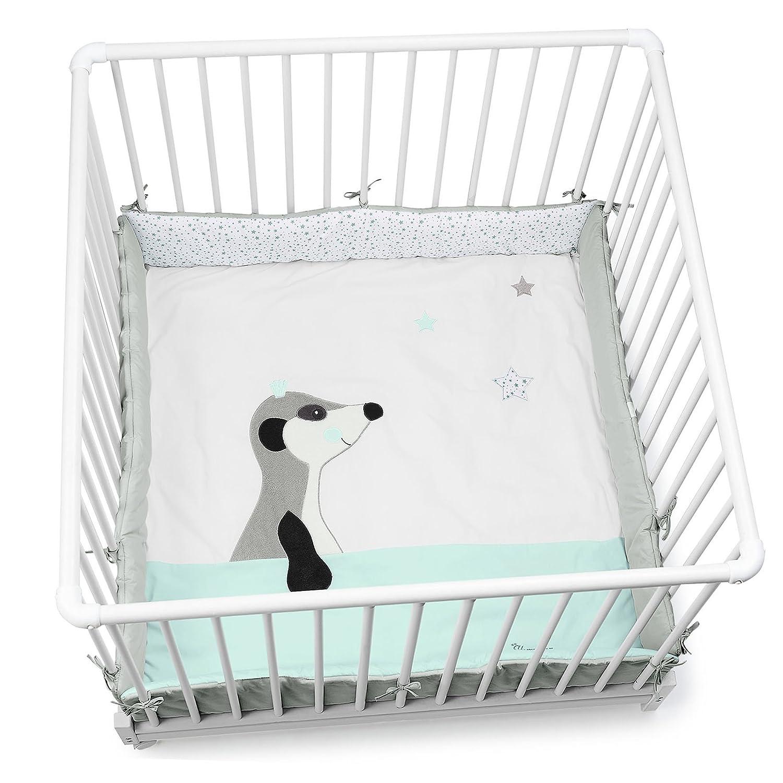 Sterntaler Playpen Pad (100 x 100 cm, Elvis The Meerkat) 9141622