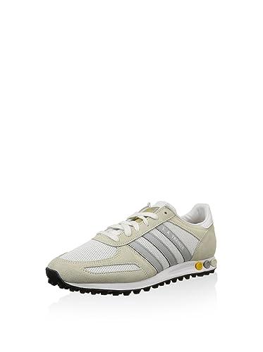 Scarpa Adidas L.A. Trainer, Bianco Blu, 36: Amazon.it