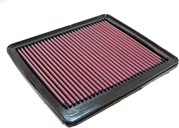 K/&N 33-2887 High Performance Replacement Air Filter