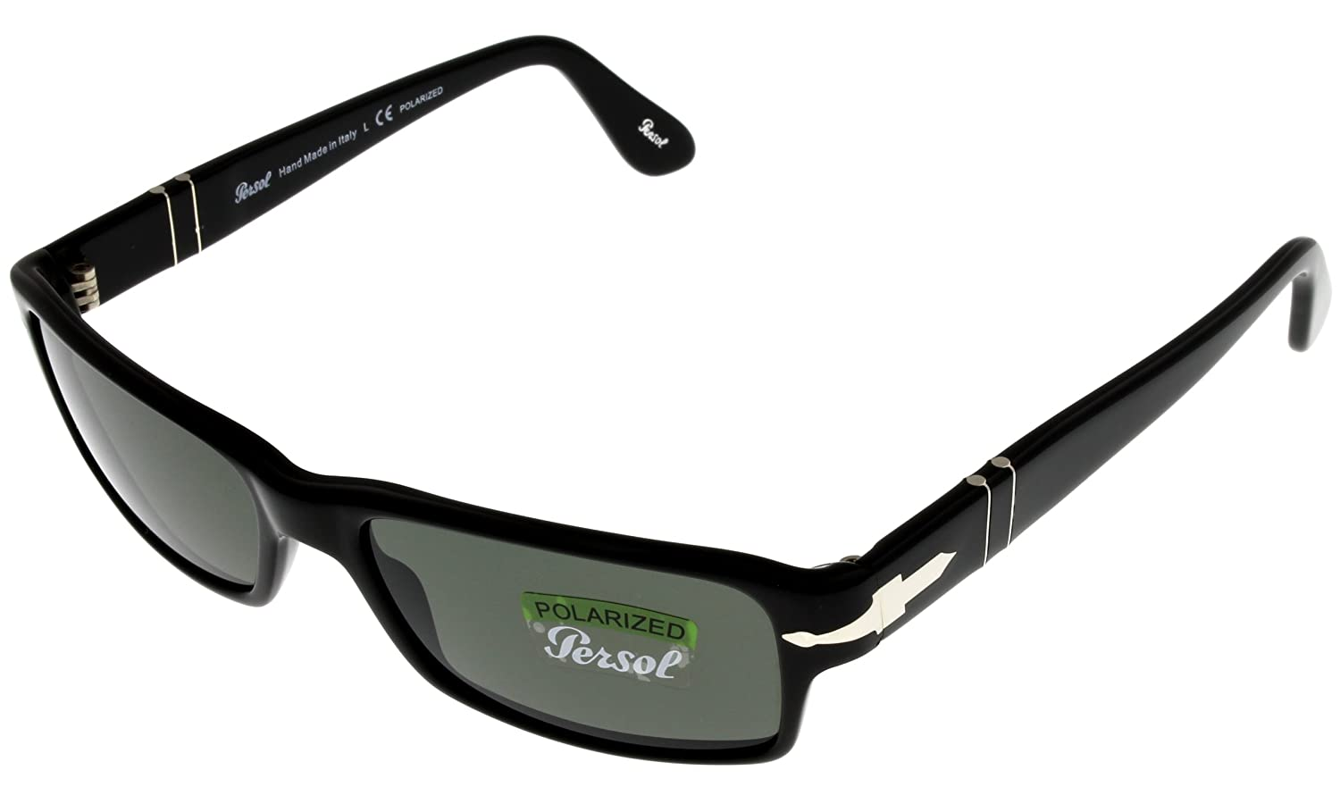 2bd65b096205 Persol Sunglasses Unisex Polarized Black Rectangular PO 2747-S 95/48 57:  Amazon.ca: Sports & Outdoors