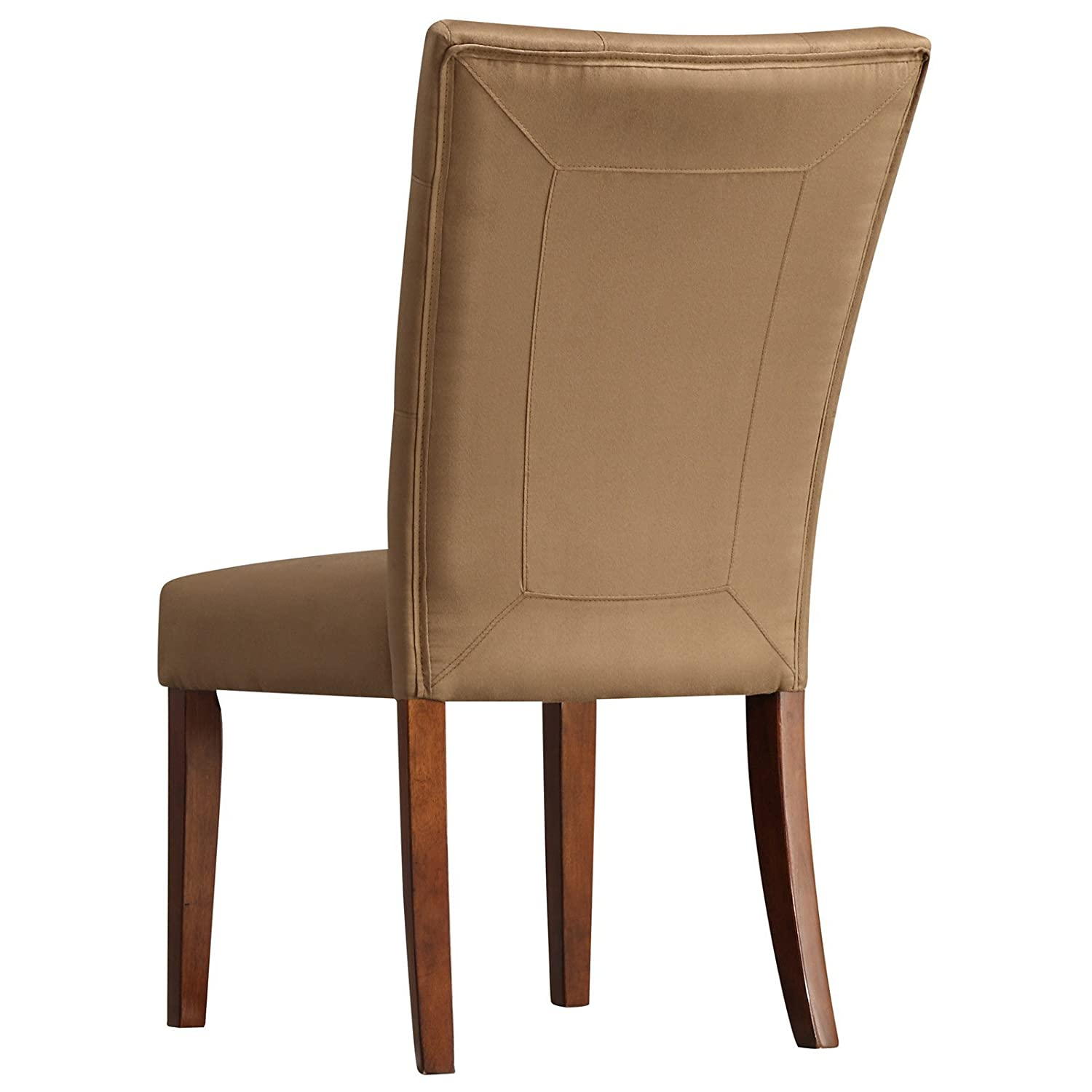 Amazon Homelegance Tufted Parsons Dining Chair Set of 2