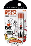 Maybelline Alia Loves New York Baby Lips Lip Balm, Brooklyn Bronze, 4g