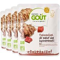 Good Goût - BIO - Parmentier de Boeuf aux Topinambours dès 12 Mois 220 g - Lot de 4