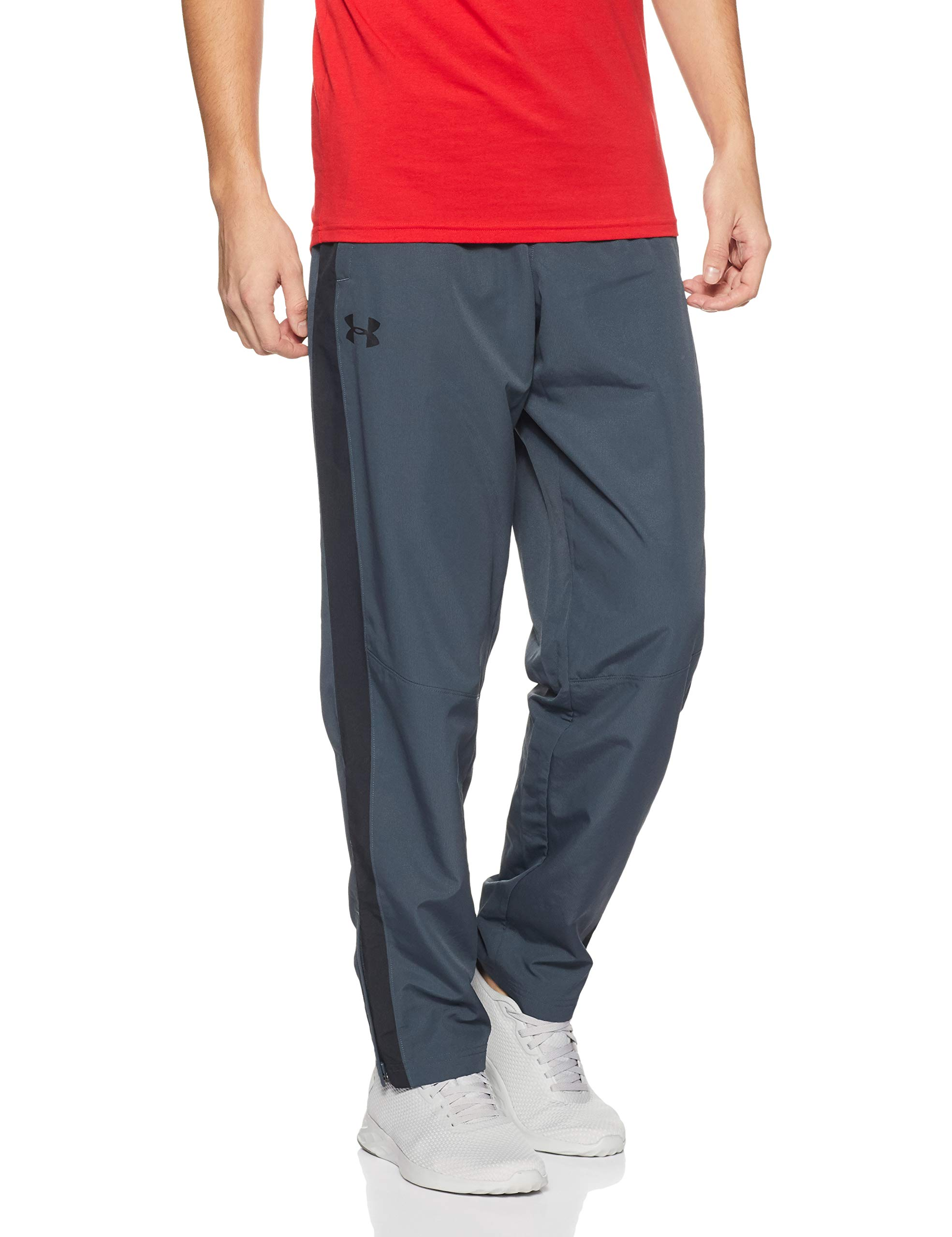 Under Armour Men's Sportstyle Woven Pants , Stealth Gray /Black, X-Large