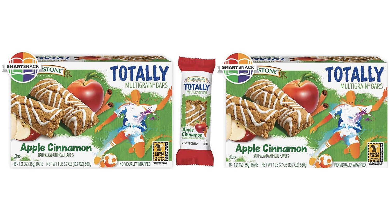 Fieldstone Bakery Whole Grain Totally Apple Cinnamon Bars, 2 Boxes, 32 Individually Wrapped Bars