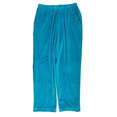 Alfred Dunner Adirondack Trail Velour Pants Plus