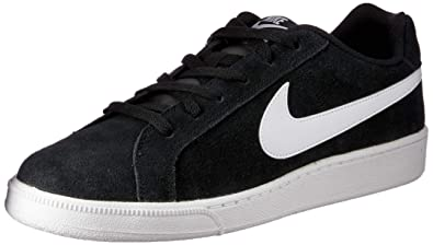 79417dedcc5564 Nike Men s Court Royale Suede Gymnastics Shoes Blanco (Black White) 13 UK