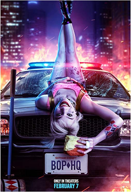 Amazon Com Birds Of Prey Movie Poster 24 X 36 Inches Usa Shipped Print Ready For Display 2020 Poster Version B Posters Prints