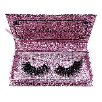 5cc5a7b373f Amazon.com : Mikiwi Thick Full 3D Mink Lashes DA007 Long Mink Eyelashes  Cruelty Free 3D Mink Eyelashes Dramatic Look Volumn False Lashes : Beauty