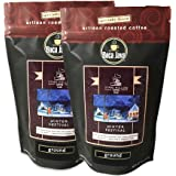 Boca Java - Roasted To Order Coffee Stars Hollow Winter Festival, Mint Chocolate, 1 Pound